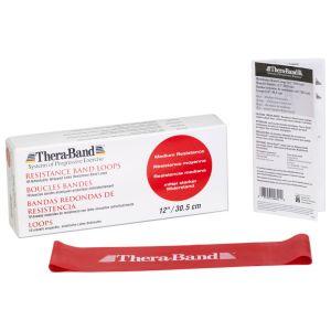 Thera-band Loops a resistenza elastica 30 cm Rosso